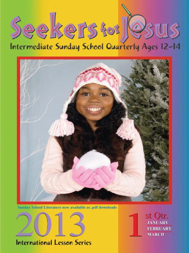 Seekers for Jesus 1st Quarter 2013