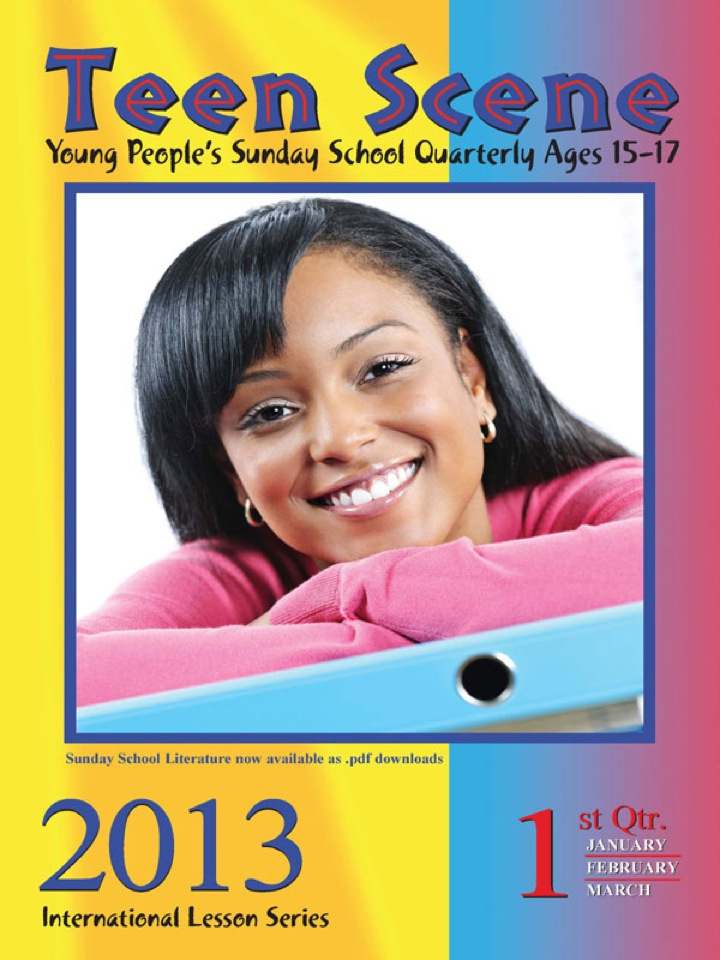 Teen Scene 1st Quarter 2013