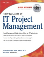 """""""How to Cheat at IT Project Management"""" (9781597490375)"""