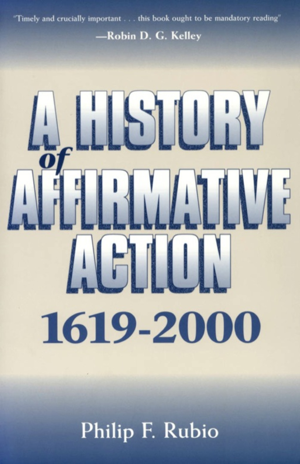 A History of Affirmative Action  1619-2000 (eBook)