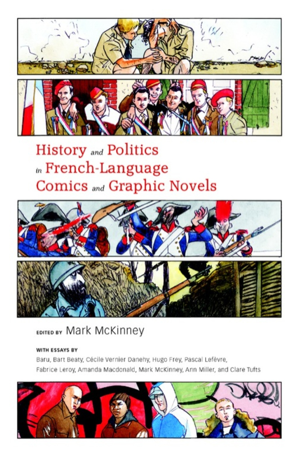 History and Politics in French-Language Comics and Graphic Novels (eBook)