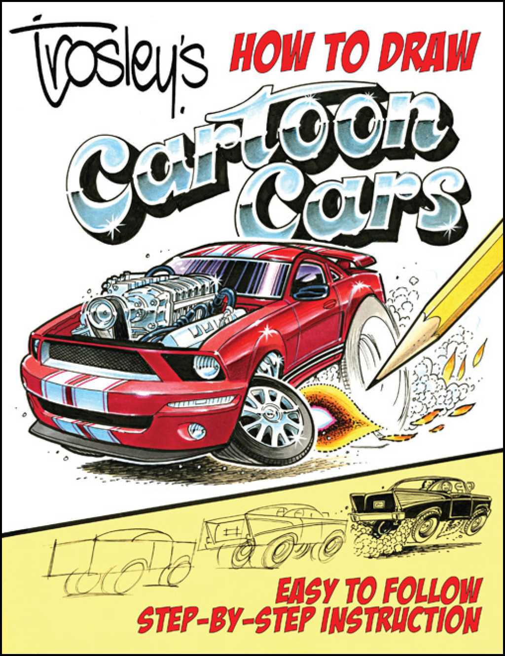 Trosley's How to Draw Cartoon Cars (eBook)