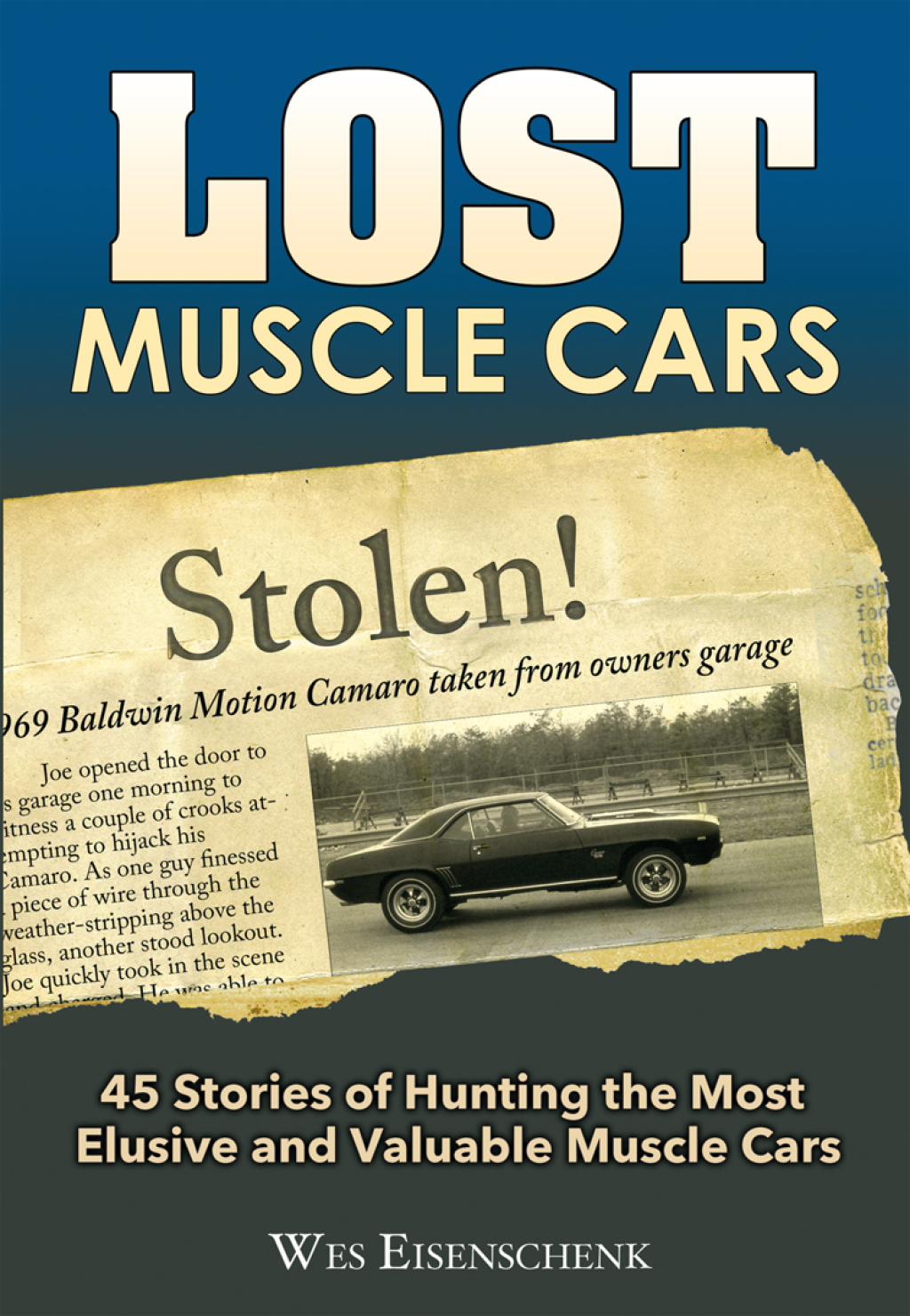 Lost Muscle Cars (eBook)