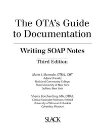 writing soap notes in occupational therapy