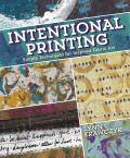 Intentional Printing (9781620335185) photo