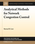 Analytical Methods for Network Congestion Control 9781627055994