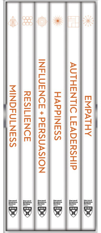 HBR Emotional Intelligence Boxed Set (6 Books) (HBR Emotional Intelligence Series)              by             Harvard Business Review; Daniel Goleman; Annie McKee; Bill George; Herminia Ibarra