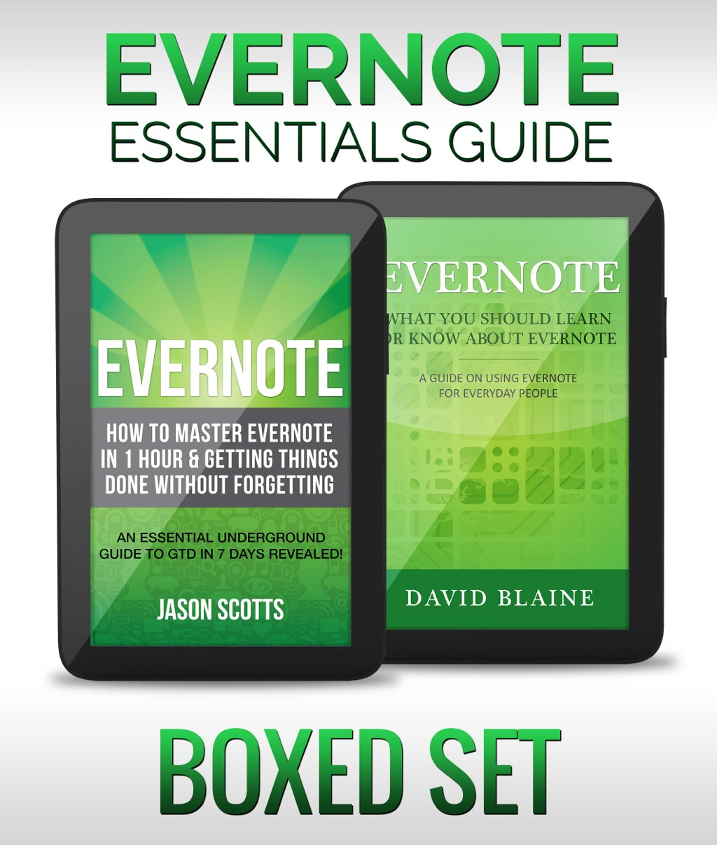 Evernote Essentials Guide (Boxed Set) (eBook)