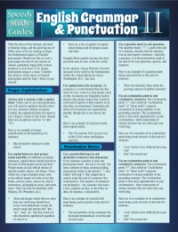 English Grammar & Punctuation II              by             Speedy Publishing
