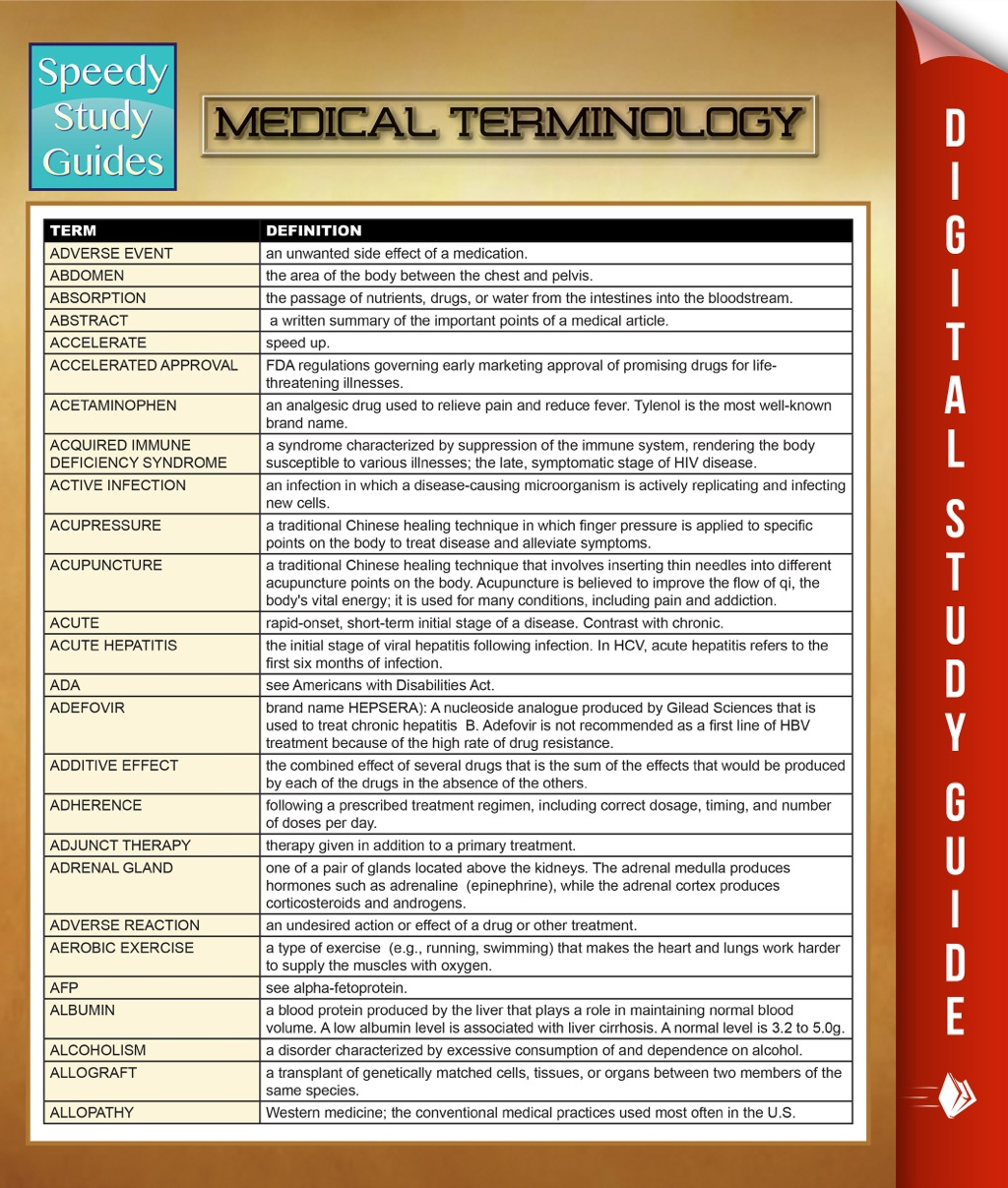 Medical Terminology (eBook)