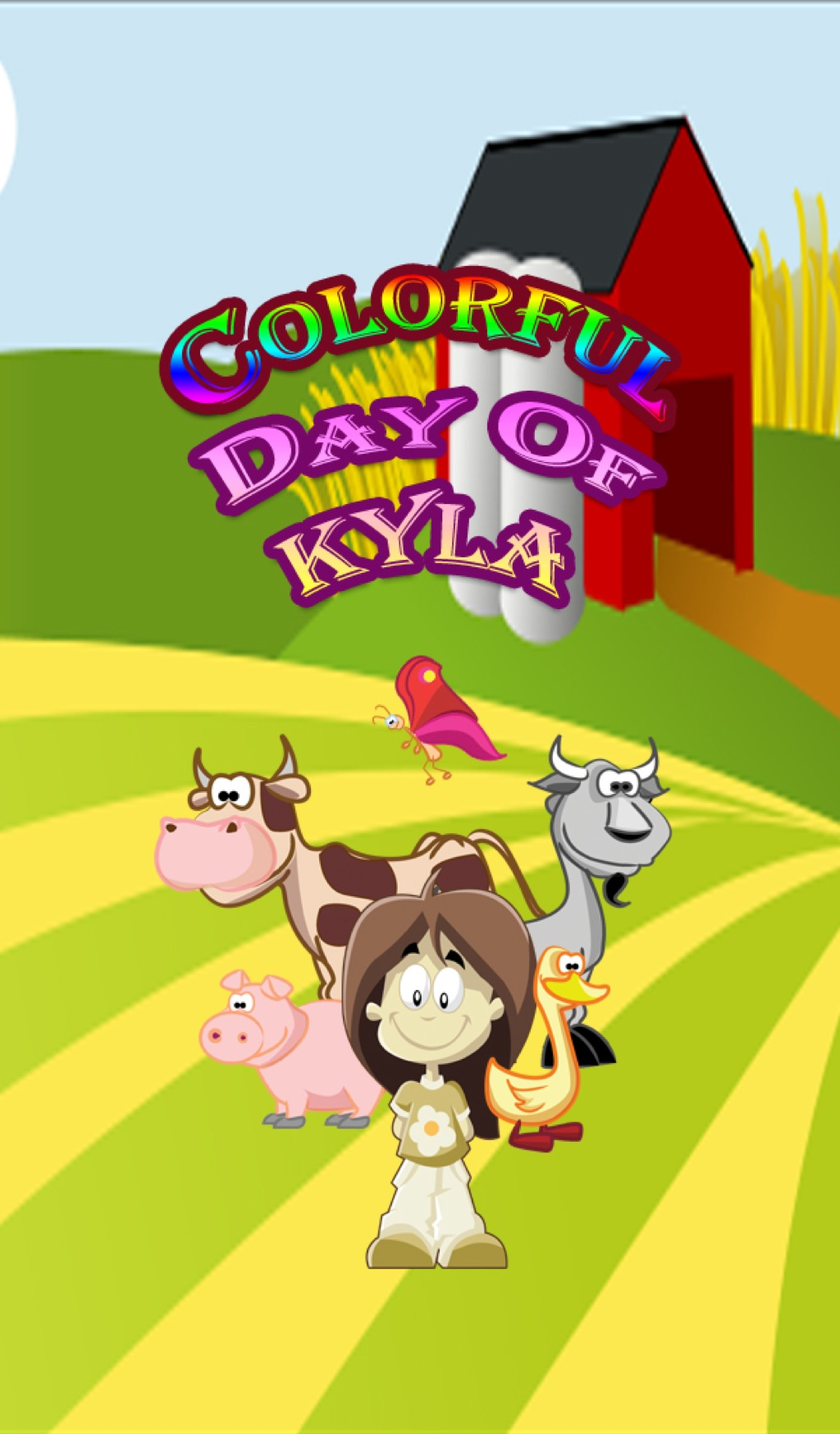 Colorful Day of Kyla (eBook)