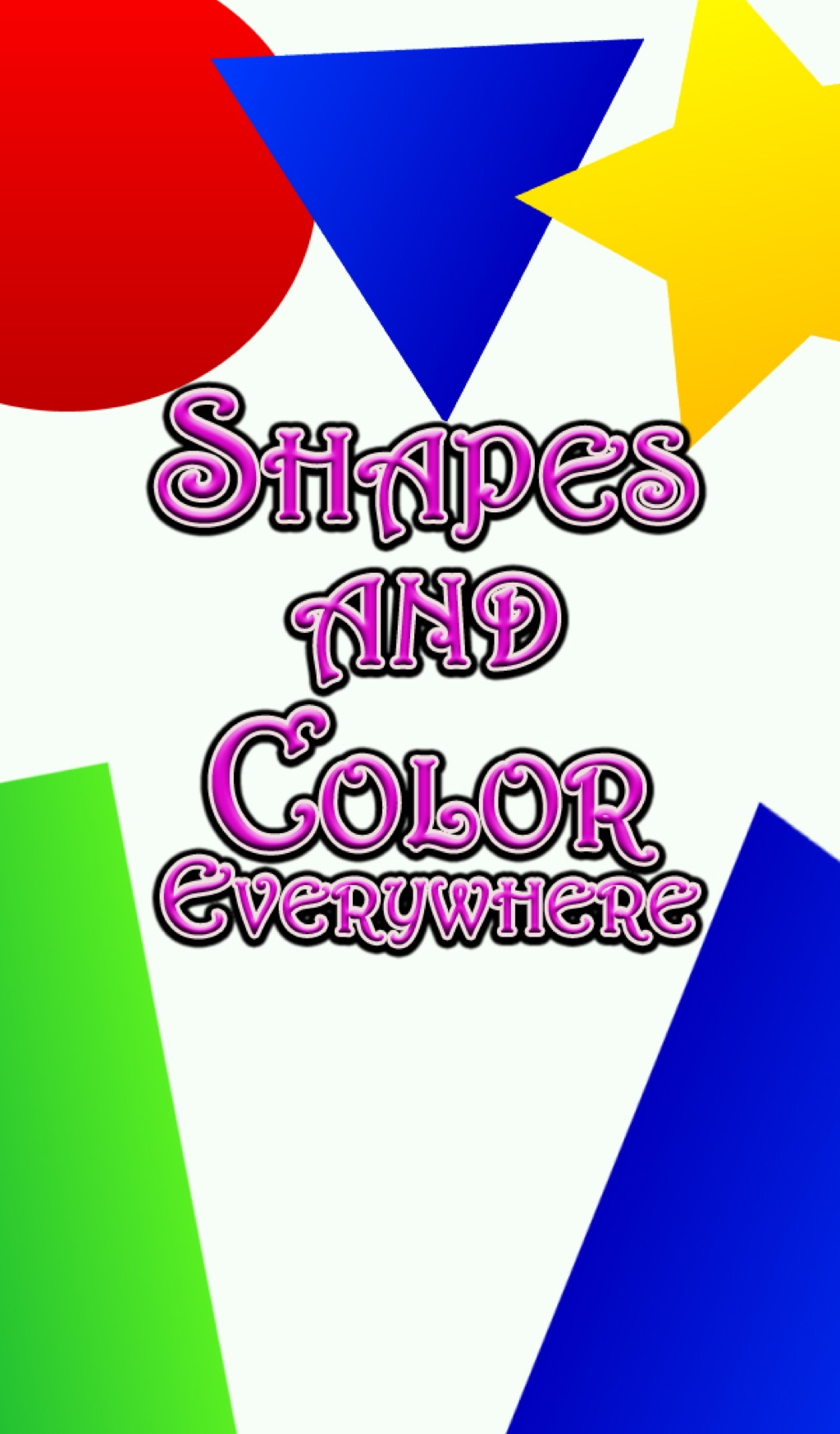Shapes and Color Everywhere (eBook)