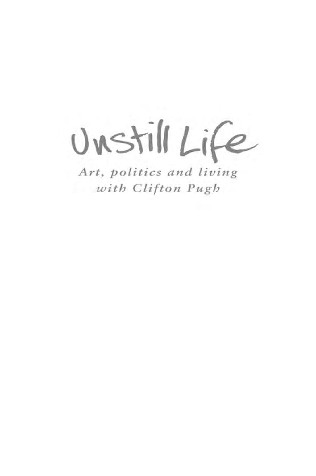 Unstill Life (eBook)