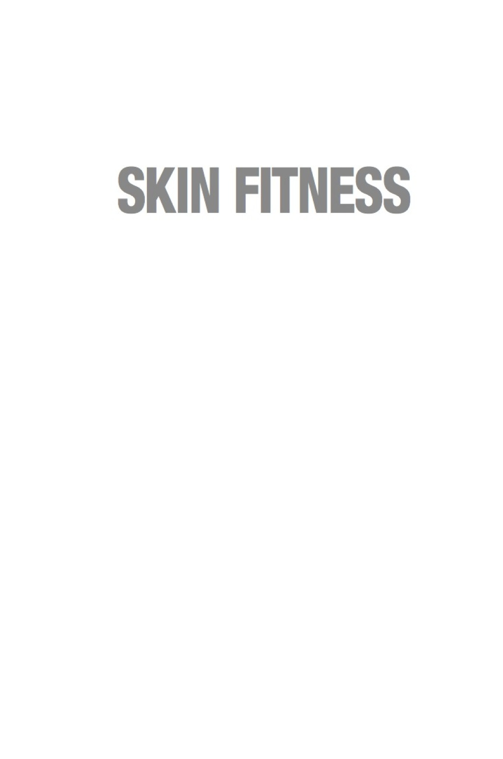 Skin Fitness (eBook)
