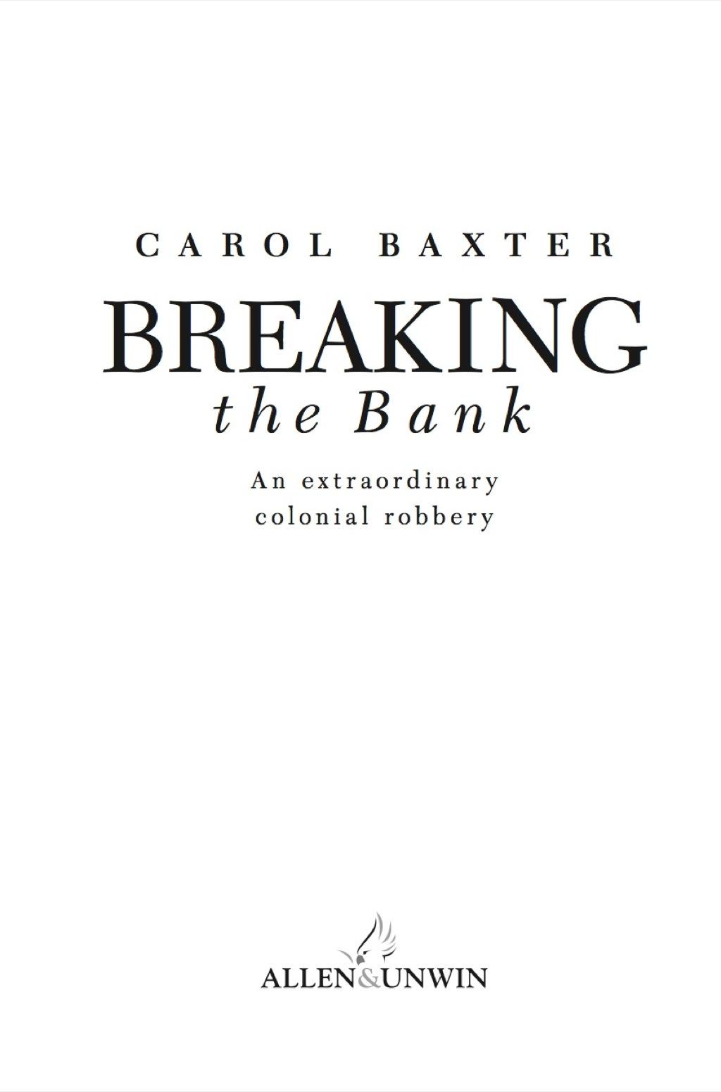 Breaking the Bank (eBook)