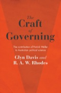 The Craft of Governing 9781743438183