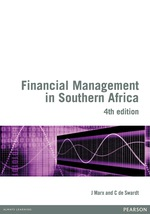 Financial Management in Southern Africa 4th edition (9781775788621)