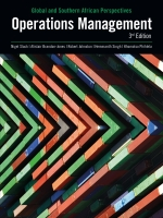 Operations Management: Global and Southern African Perspectives 3/E ePDF (9781775956600)