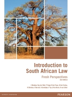 "Introduction to South African Law: Fresh Perspectives 2nd Edition"" (9781775956907)"
