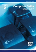 "FET College Series Computer Skills Office 2007 Level 2 Student's Book ePDF (1-year licence)"" (9781775958581)"