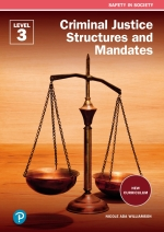 """FET College Series Criminal Justice Structures and Mandates Level 3 Student's Book ePDF (1-year licence)"" (9781775959229)"