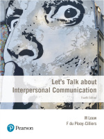 Let's Talk about Interpersonal Communication 4/E Interactive ePUB (9781776102396)