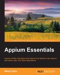 Appium Essentials 9781784399474