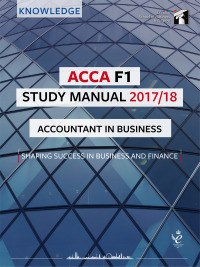 ACCA F1 Study Manual 2017/18