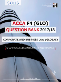 ACCA F4 Question Bank 2017/18 (GLO)