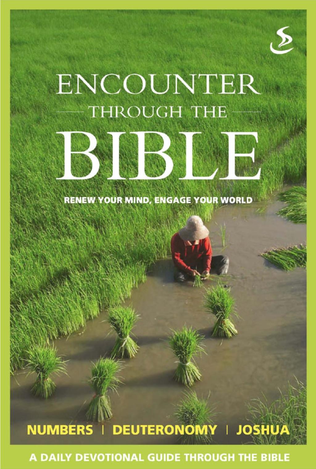Encounter through the Bible - Numbers - Deuteronomy - Joshua (eBook)