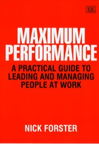 Maximum Performance              by             Nick Forster