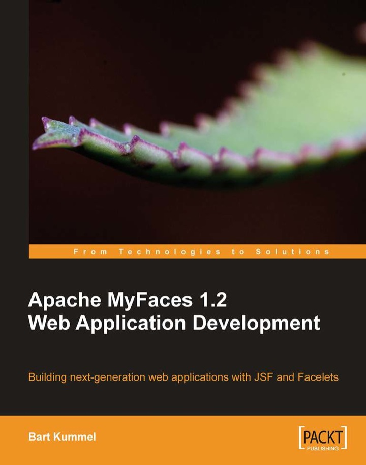 Apache MyFaces 1.2 Web Application Development
