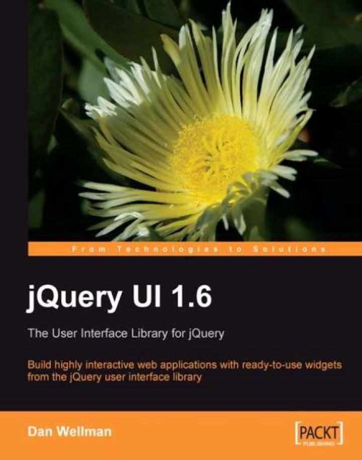 jQuery UI 1.6: The User Interface Library for jQuery