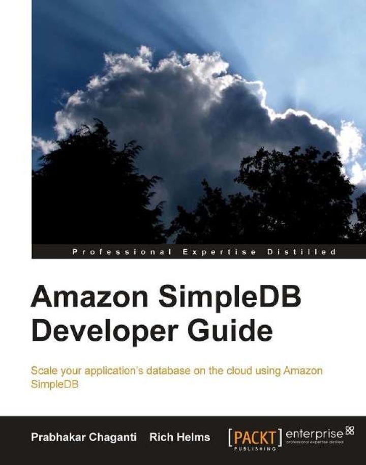Amazon SimpleDB Developer Guide