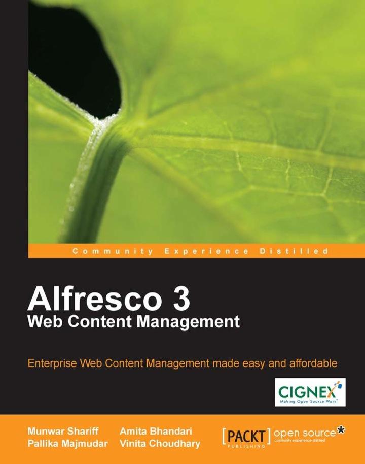 Alfresco 3 Web Content Management