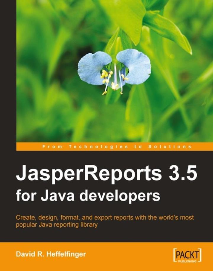 JasperReports 3.5 for Java Developers