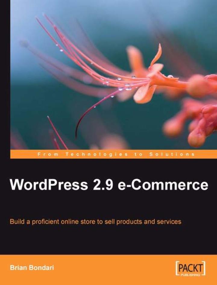 WordPress 2.9 E-Commerce