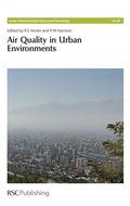 Air Quality in Urban Environments 9781847559654