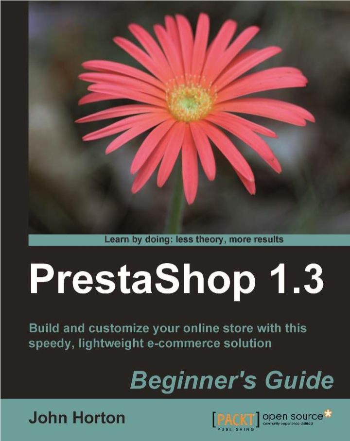PrestaShop 1.3 Beginner's Guide
