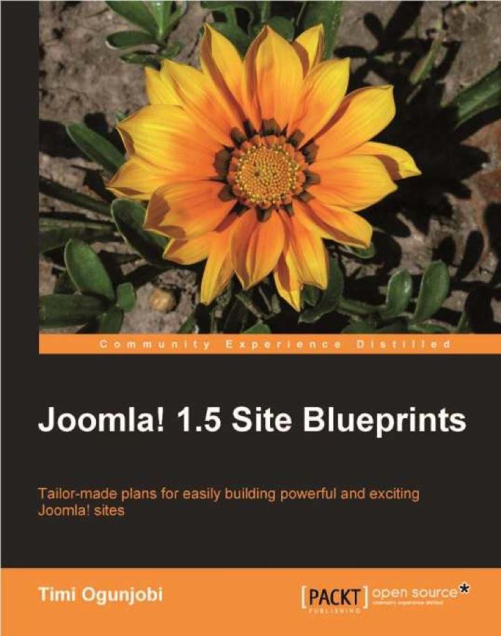 Joomla! 1.5 Site Blueprints