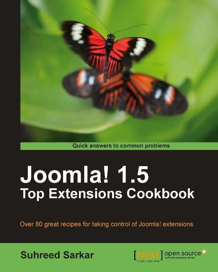 Joomla! 1.5 Top Extensions Cookbook