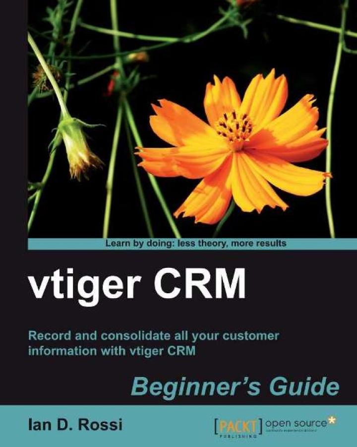 vtiger CRM Beginner's Guide