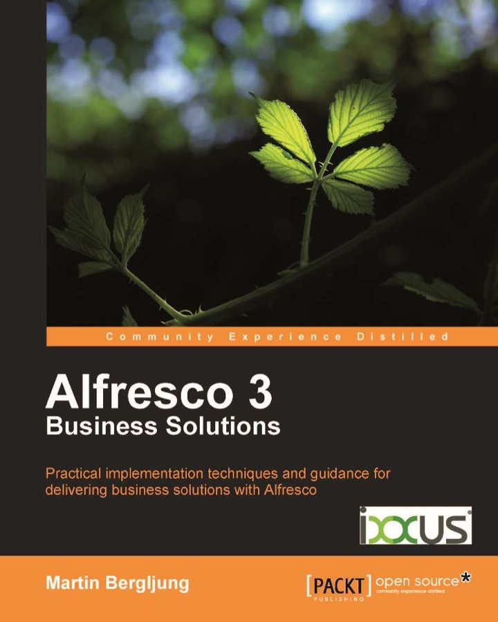 Alfresco 3 Business Solutions