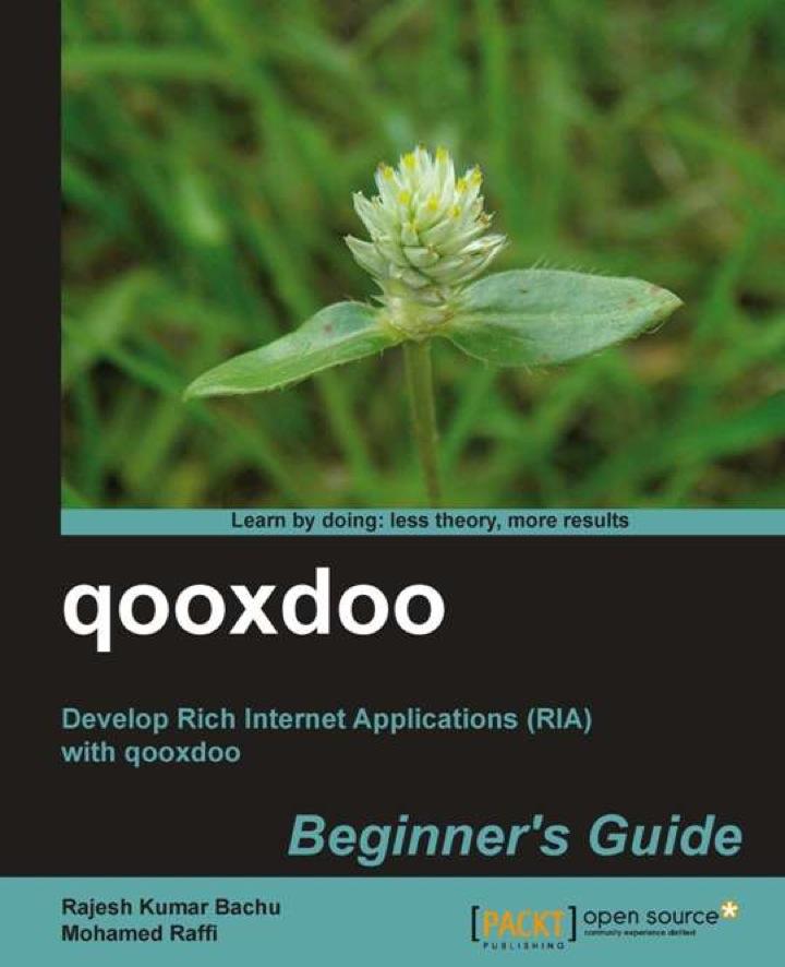 qooxdoo Beginner's Guide