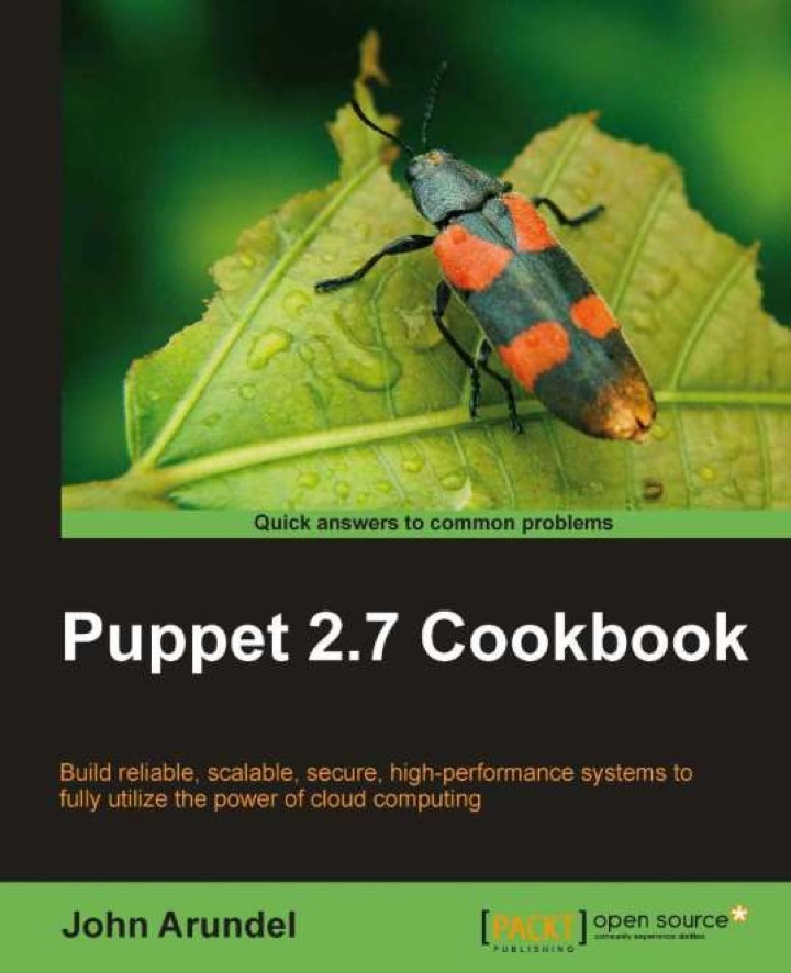 Puppet 2.7 Cookbook