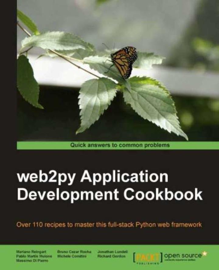 web2py Application Development Cookbook