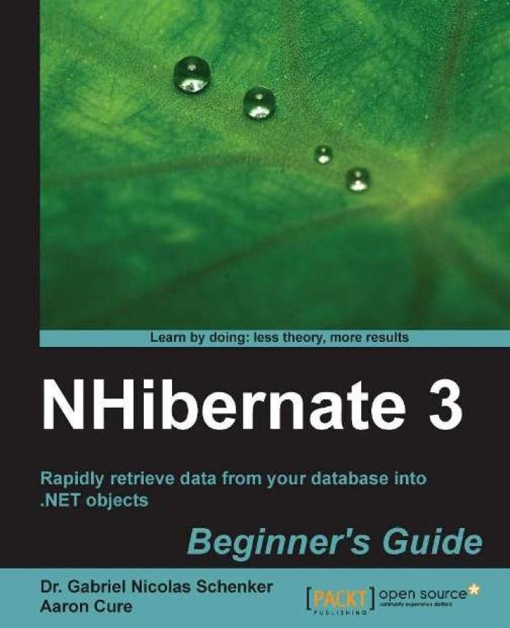 NHibernate 3 Beginner's Guide