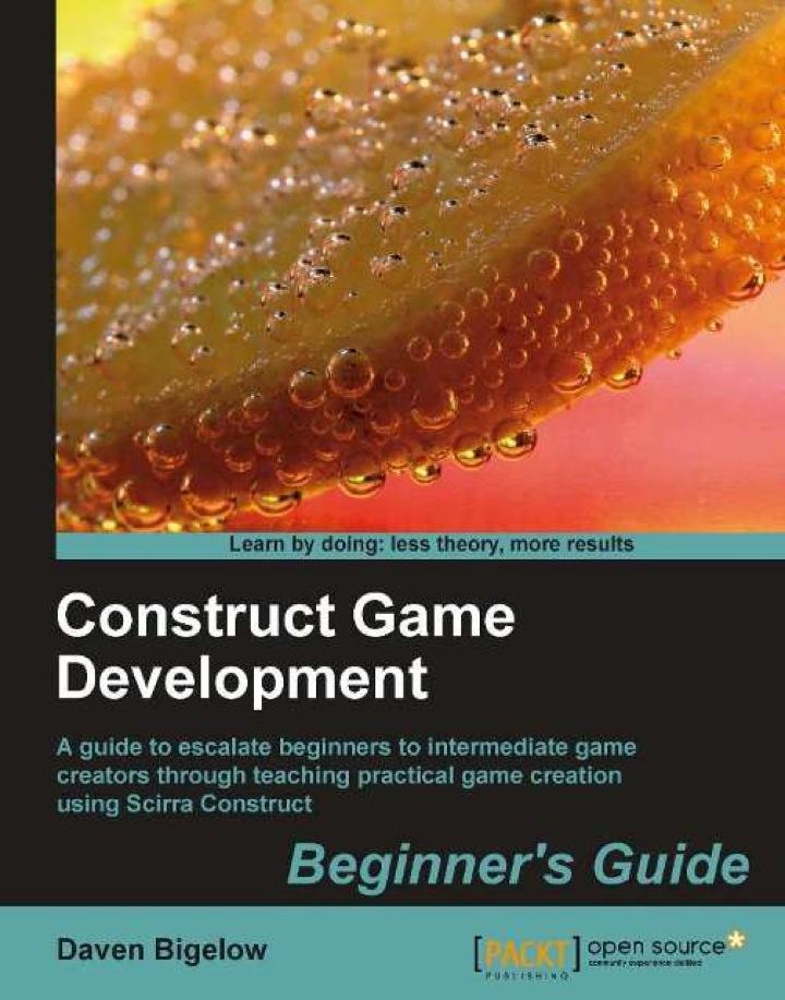 Construct Game Development Beginner's Guide