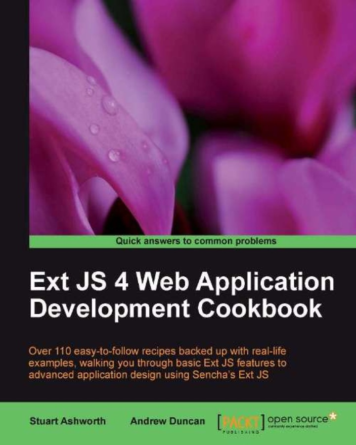 Ext JS 4 Web Application Development Cookbook