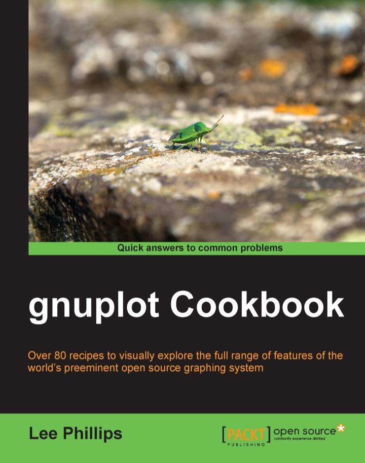 gnuplot Cookbook